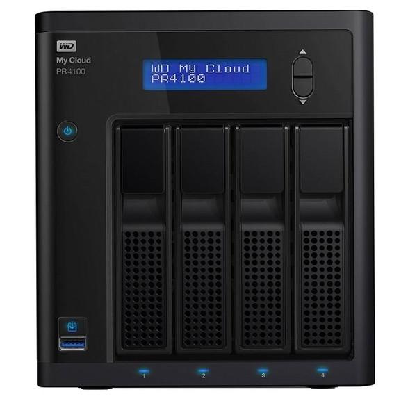 ذخیره ساز تحت شبکه وسترن دیجیتال مدل WD My Cloud PR4100 WDBNFA0080KBK 4-Bay