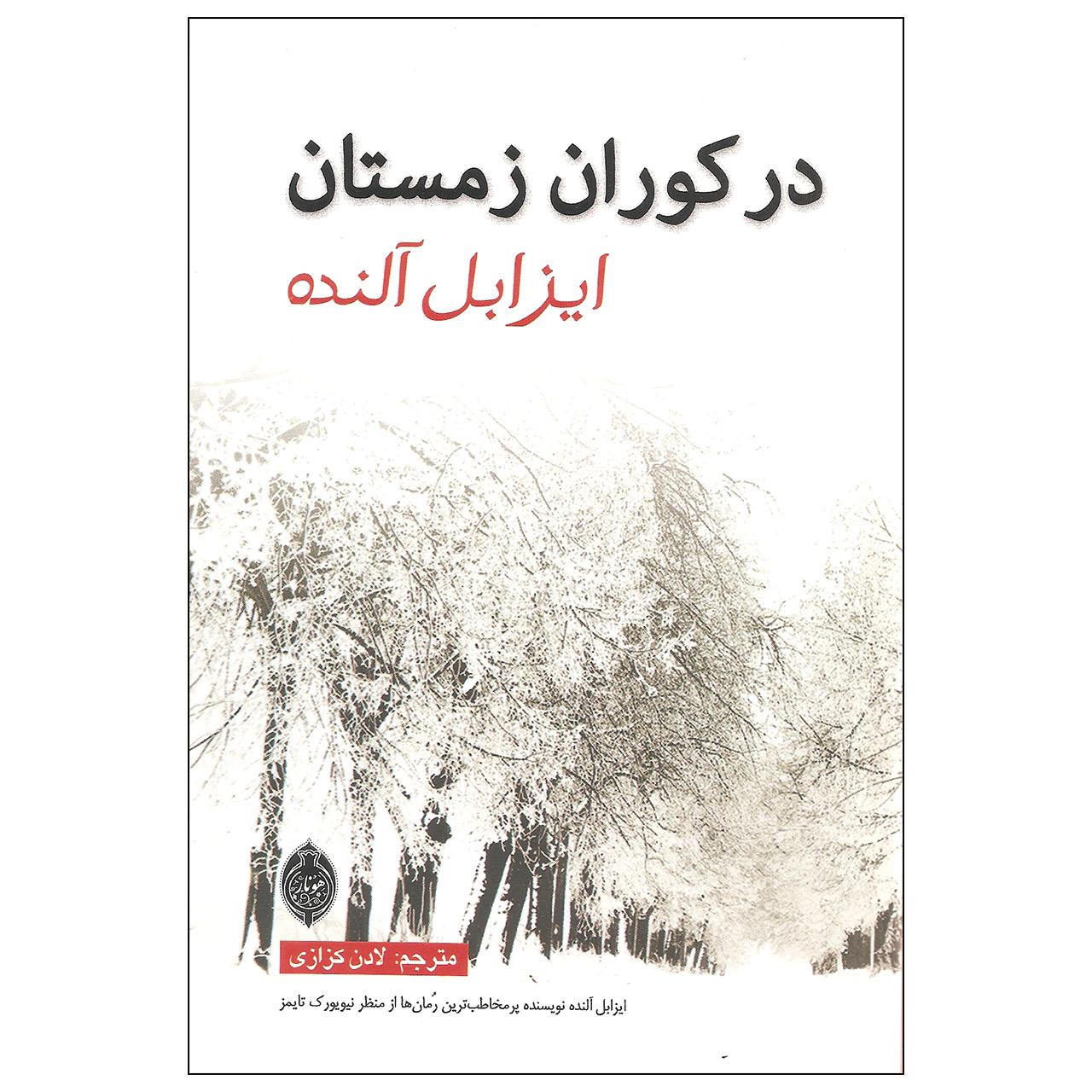 کتاب در کوران زمستان اثر ایزابل آلنده نشر هونار