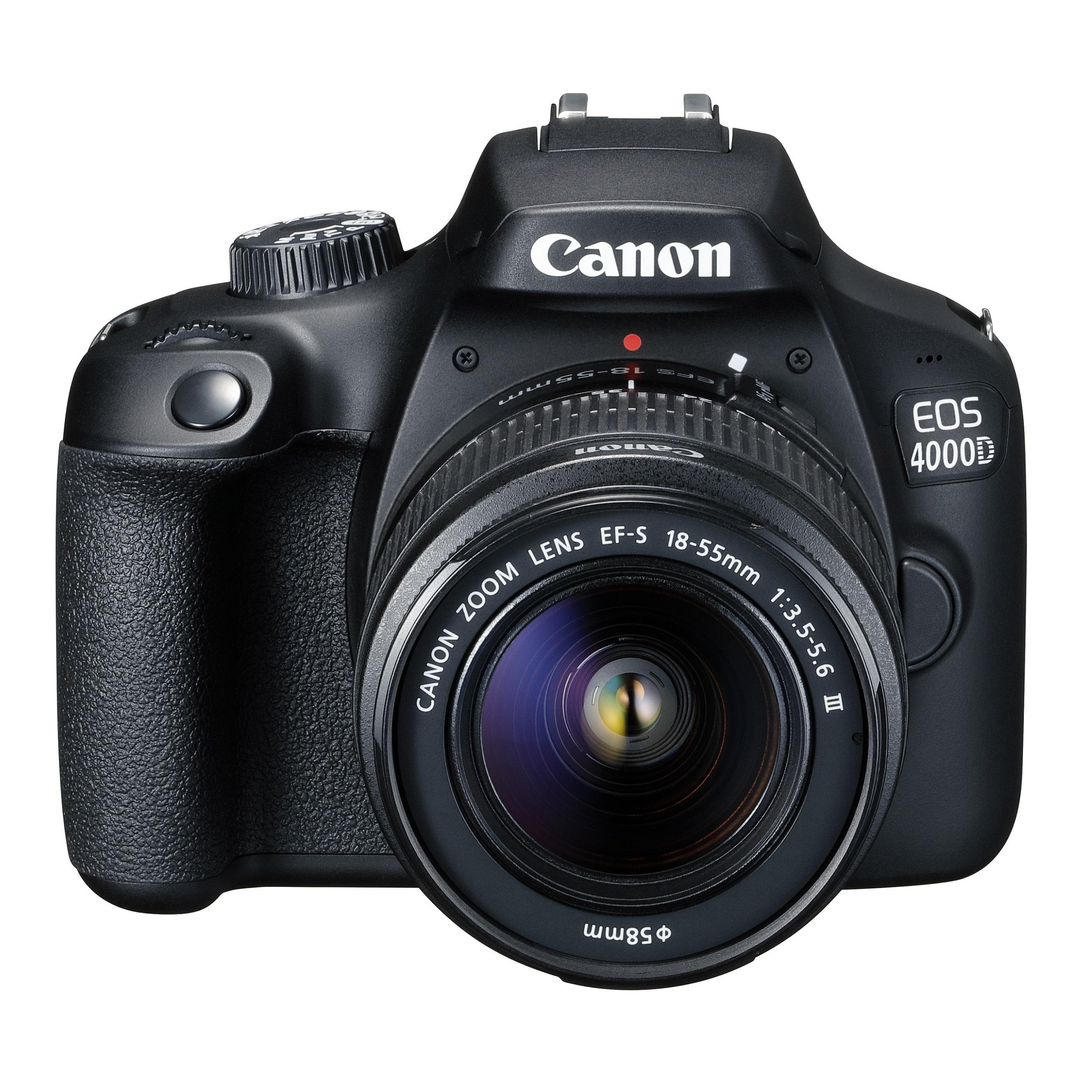 دوربین دیجیتال کانن مدل EOS 4000D به همراه لنز 18-55 میلی متر DC III و لوازم جانبی thumb