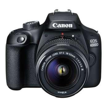 دوربین دیجیتال کانن مدل EOS 4000D به همراه لنز 18-55 میلی متر DC III و لوازم جانبی