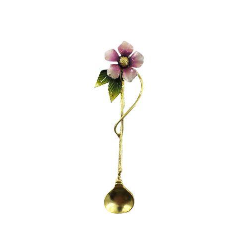 قاشق چای خوری طرح گل کد 98060
