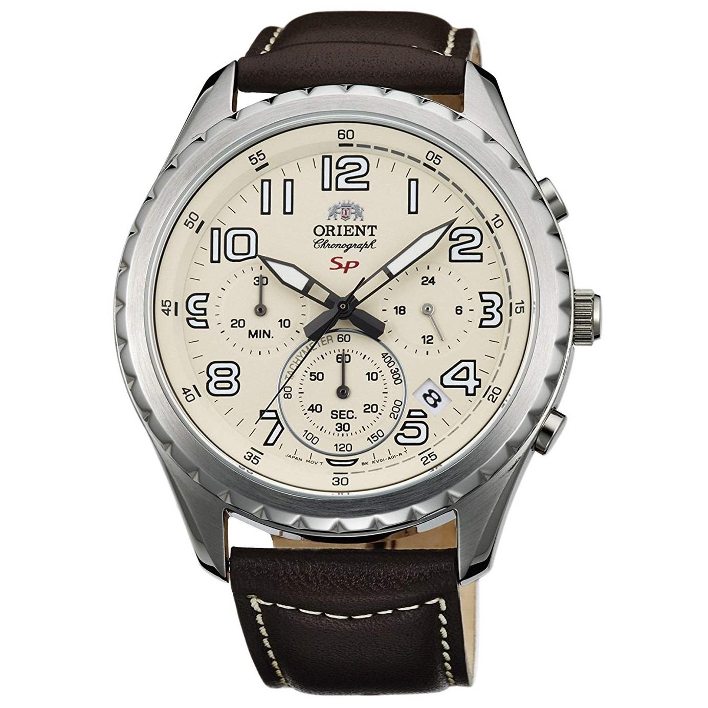 کد تخفیف                                      ساعت مچی عقربه ای مردانه اورینت مدل SKV01005Y0