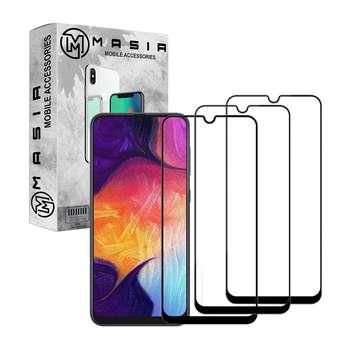 محافظ صفحه نمایش مسیر مدل MGF-3 مناسب برای گوشی موبایل سامسونگ Galaxy A20 بسته سه عددی