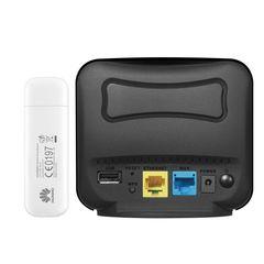 مودم 4G هوآوی مدل E3372  به همراه روتر دی-لینک