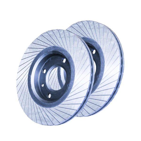 دیسک ترمز چرخ جلو خودرو تاروکس کد 1475-G88 مناسب برای پژو 206 بسته 2 عددی