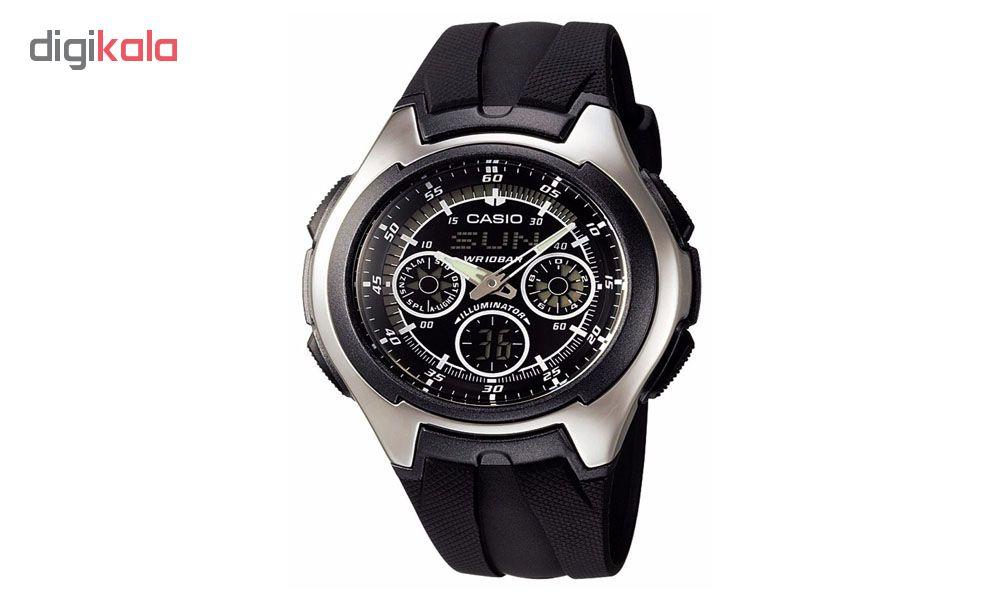 ساعت  کاسیو مدل AQ-163W-1B1VDF