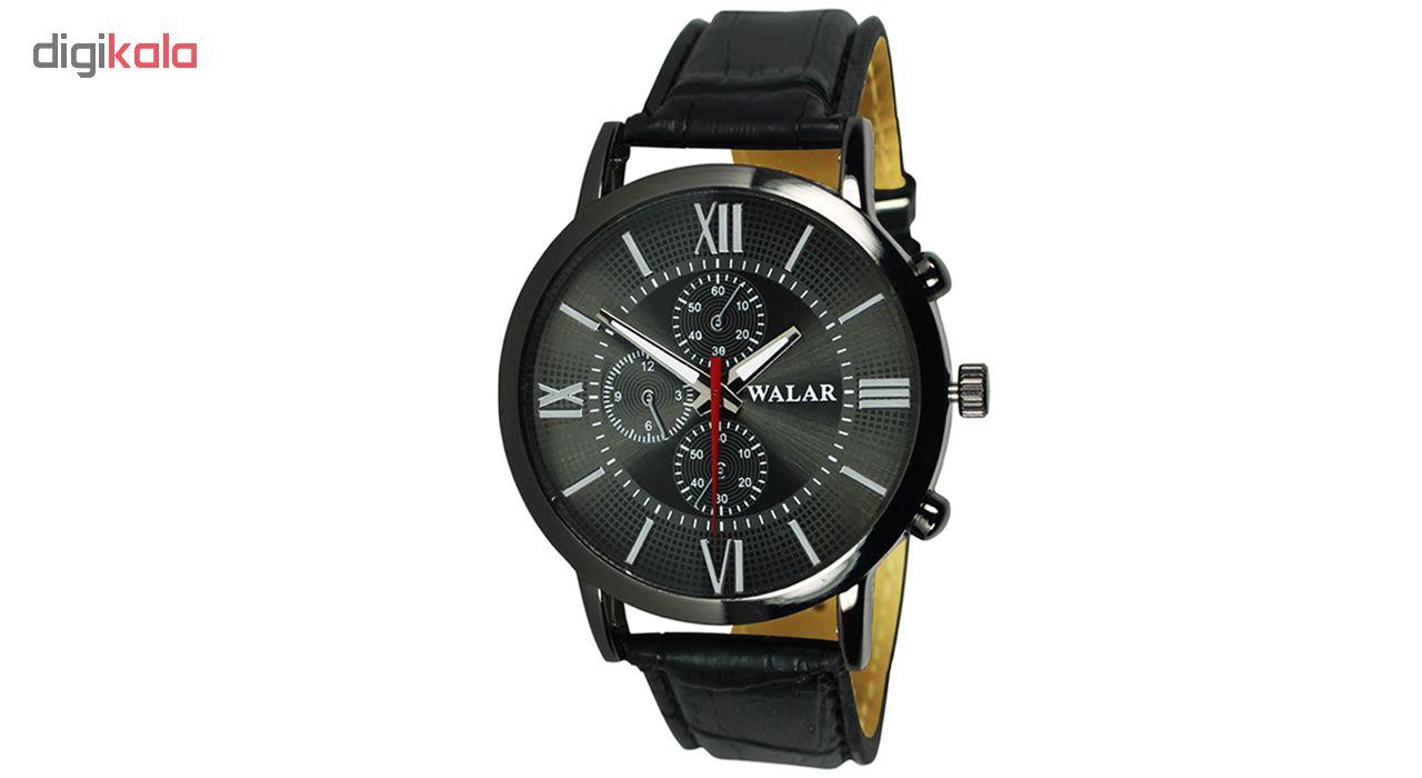 ساعت مچی عقربه ای زنانه والار مدل Wal-bll-01