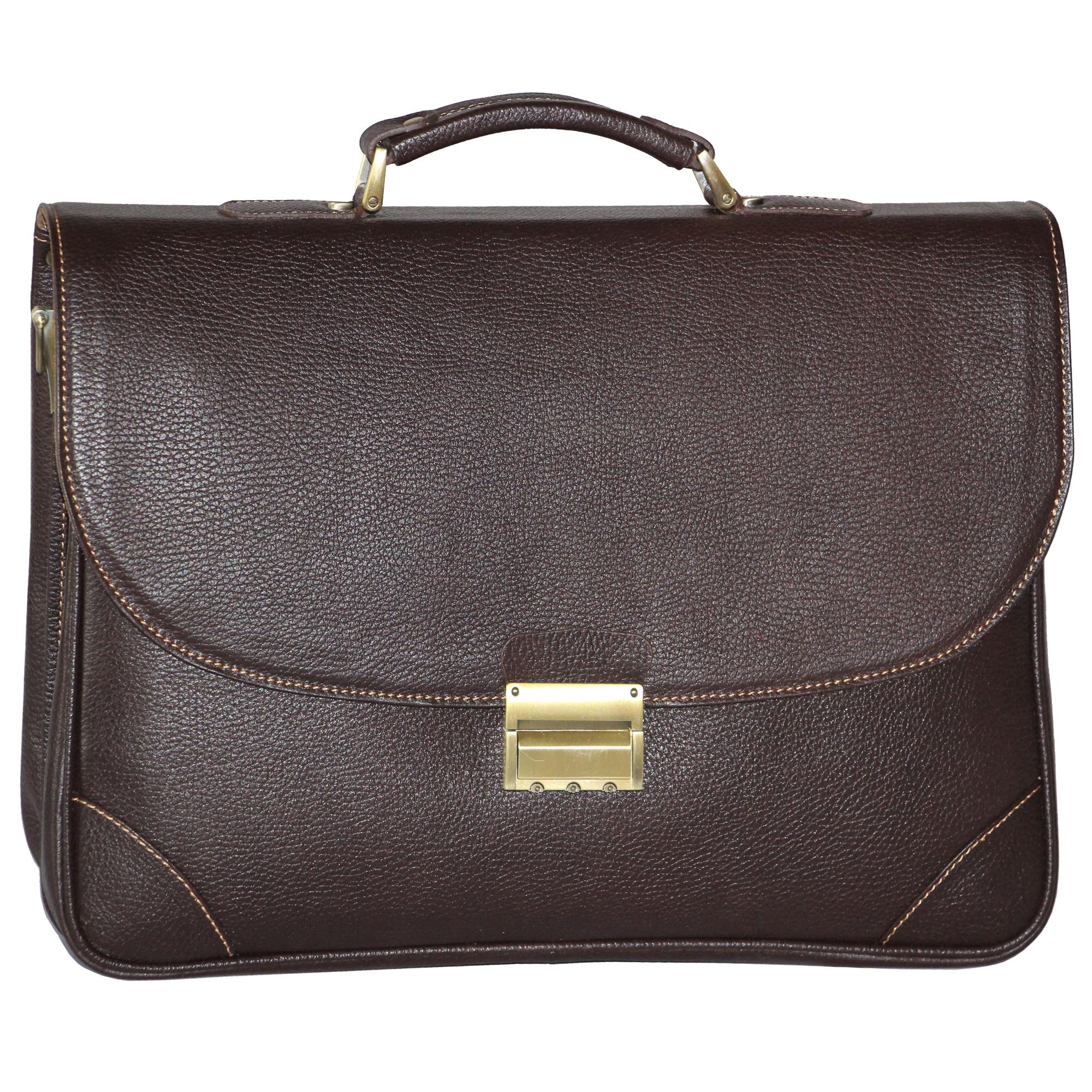 قیمت کیف اداری مردانه آدین چرم مدل DL60.1