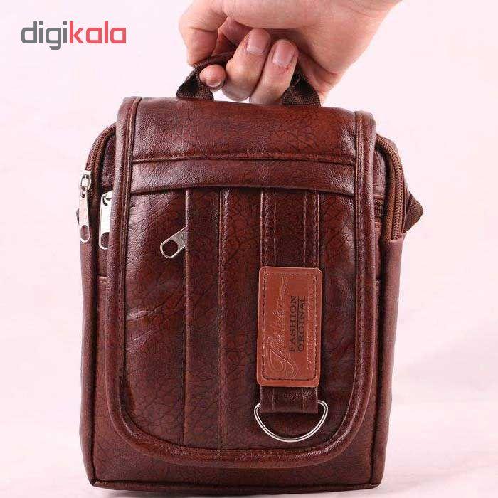 کیف دوشی مردانه کد 01