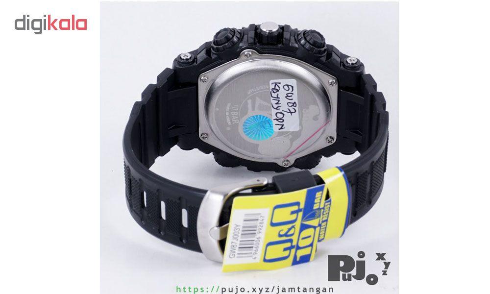 ساعت مچی دیجیتال مردانه کیو اند کیو مدل GW87J003Y             قیمت