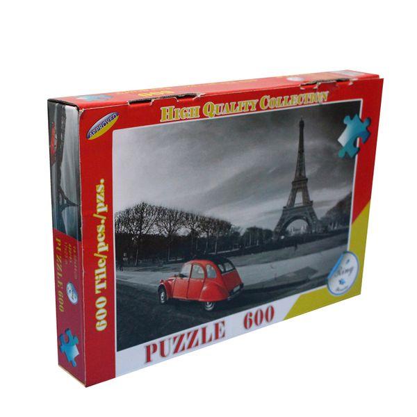 پازل 600 تکه طرح پاریس کلاسیک کد 636