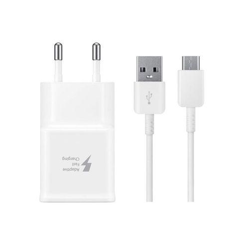 شارژر دیواری مدل EP-TA20EWE  به همراه کابل تبدیل USB-C