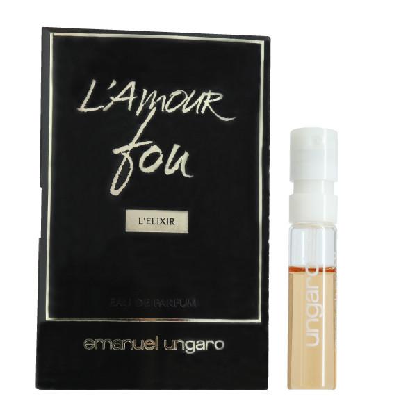 عطر جیبی زنانه امانویل اونگارو مدل L'Amour Fou L'Elixir حجم 1.5 میلی لیتر