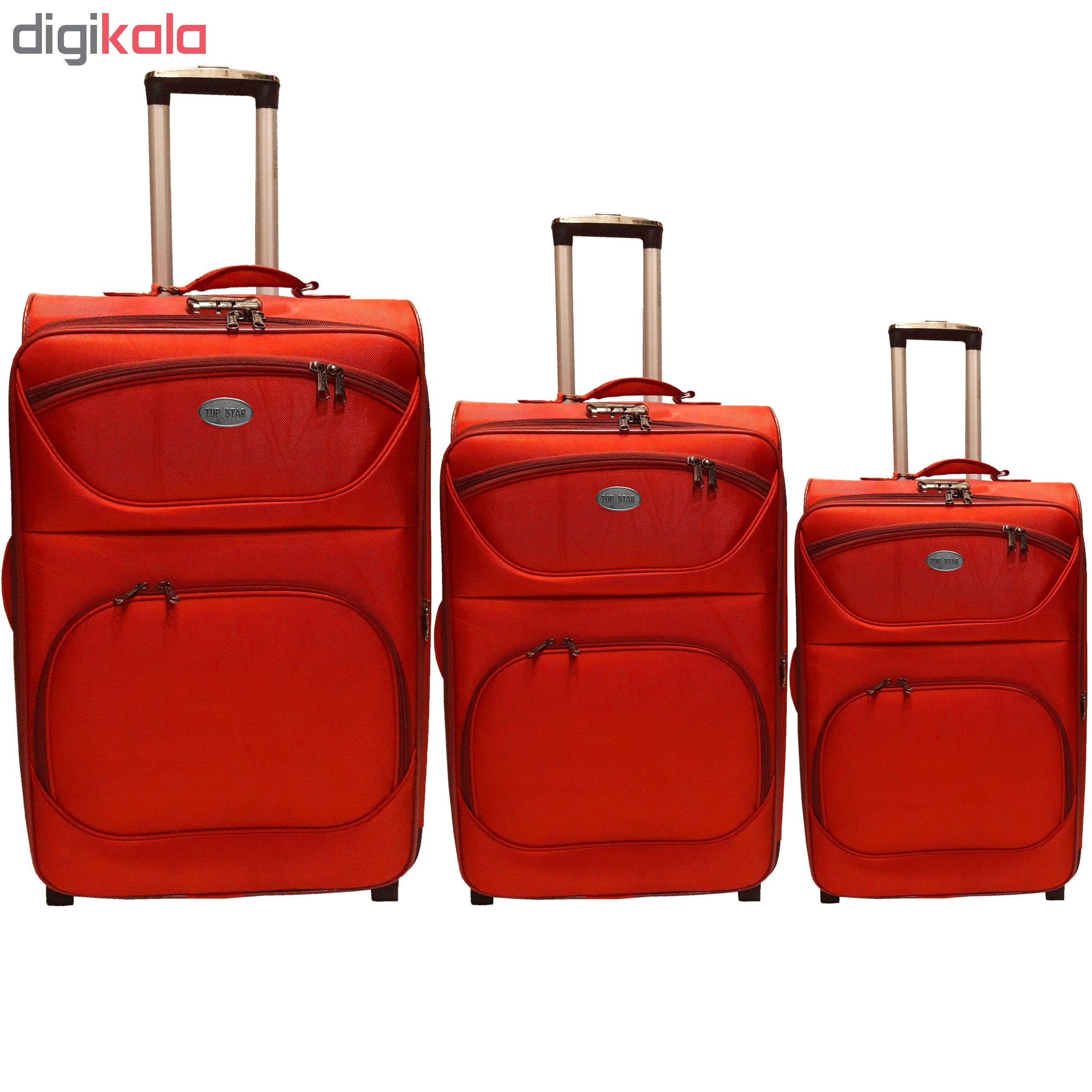 مجموعه سه عددی چمدان تاپ استار مدل t3 main 1 2