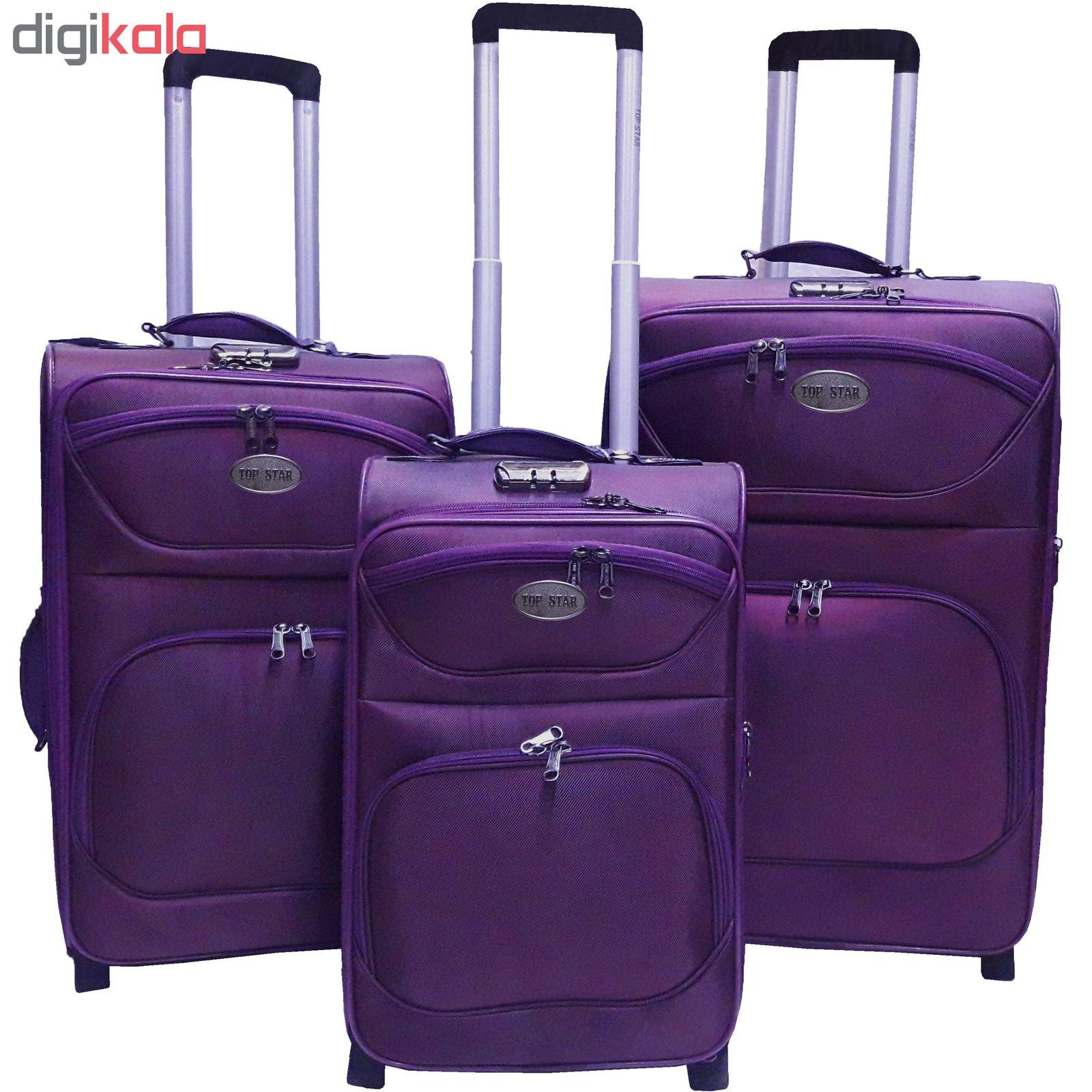 مجموعه سه عددی چمدان تاپ استار مدل t3 main 1 5