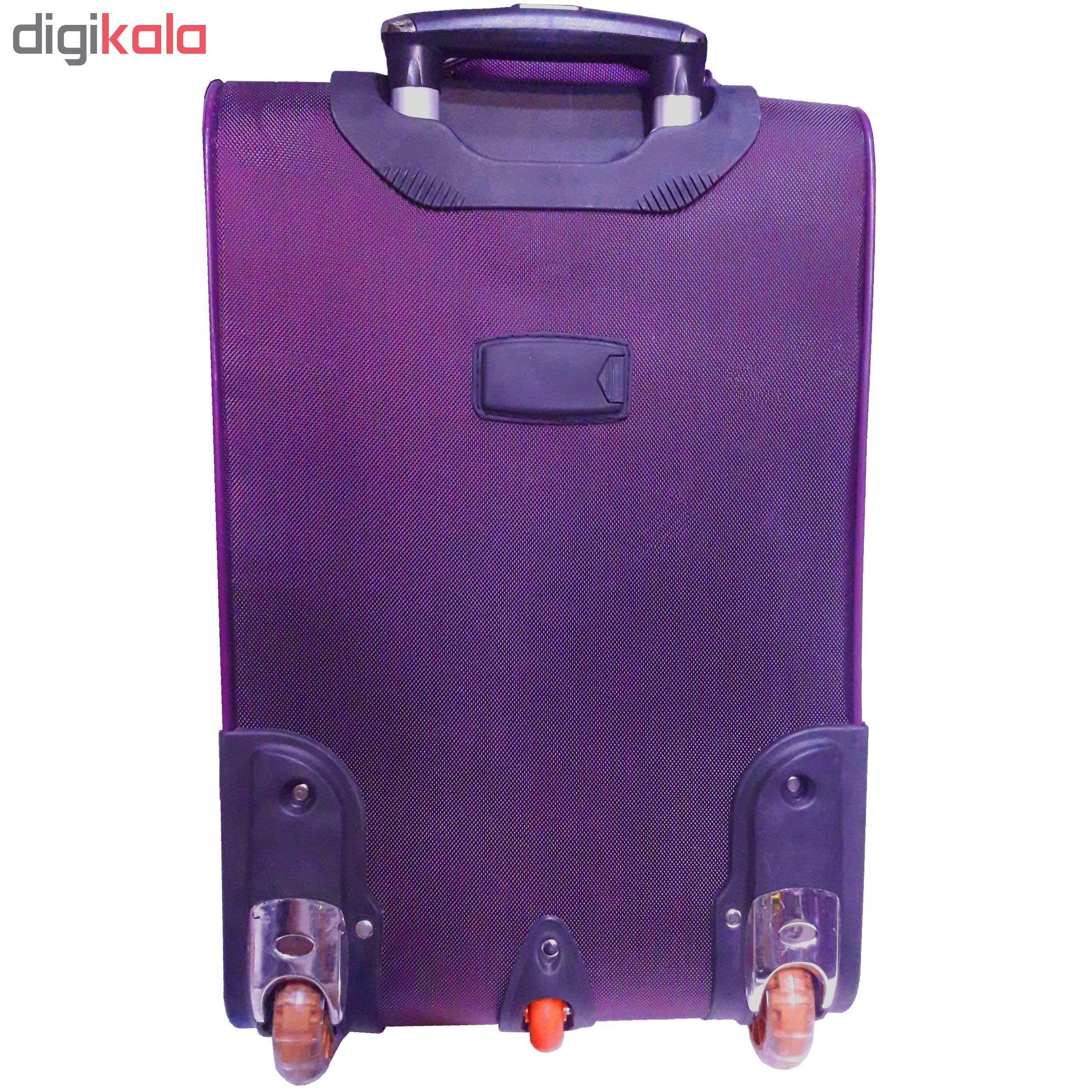 مجموعه سه عددی چمدان تاپ استار مدل t3