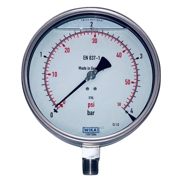 گیج فشار ویکا کد 160-50-232