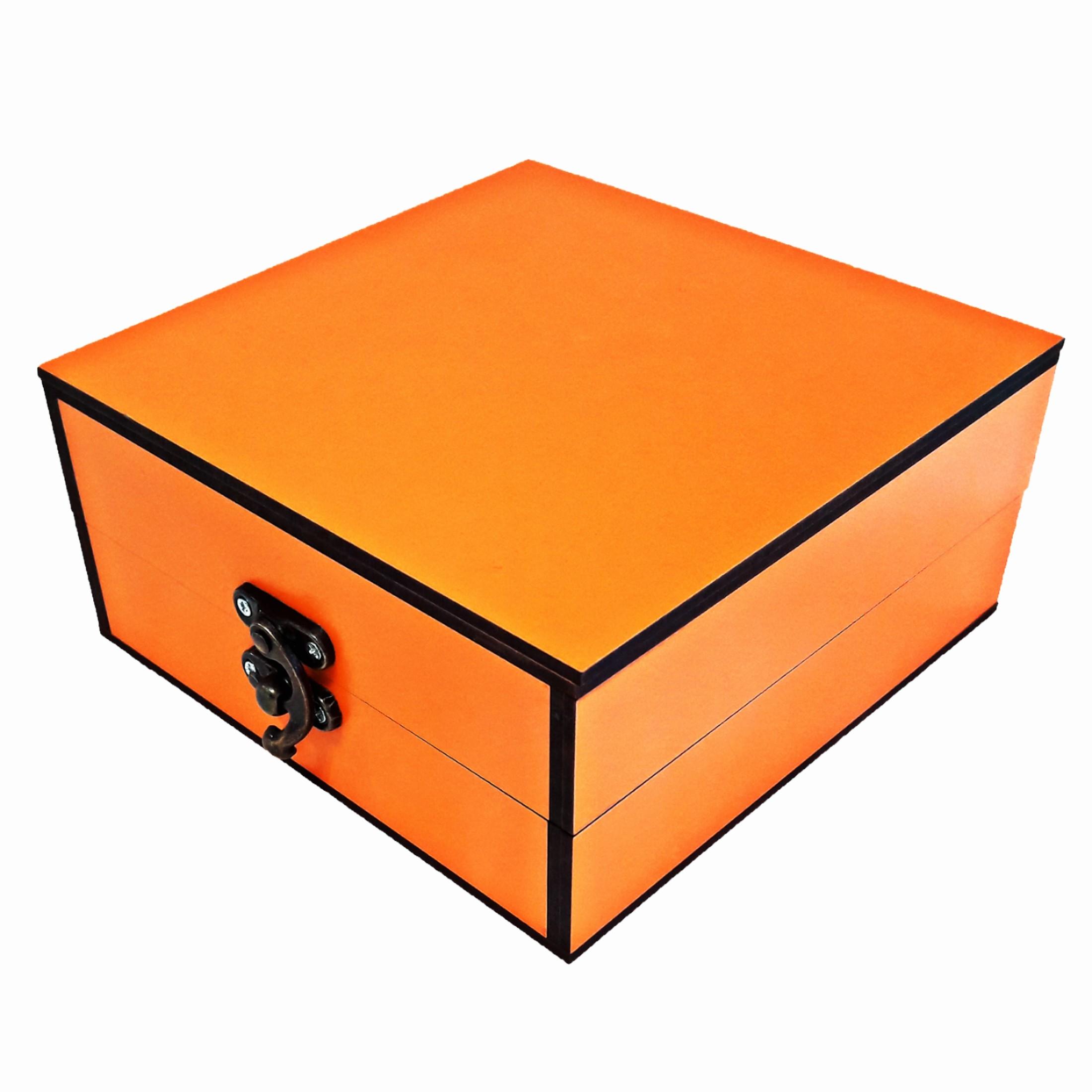 جعبه هدیه چوبی مدل 84