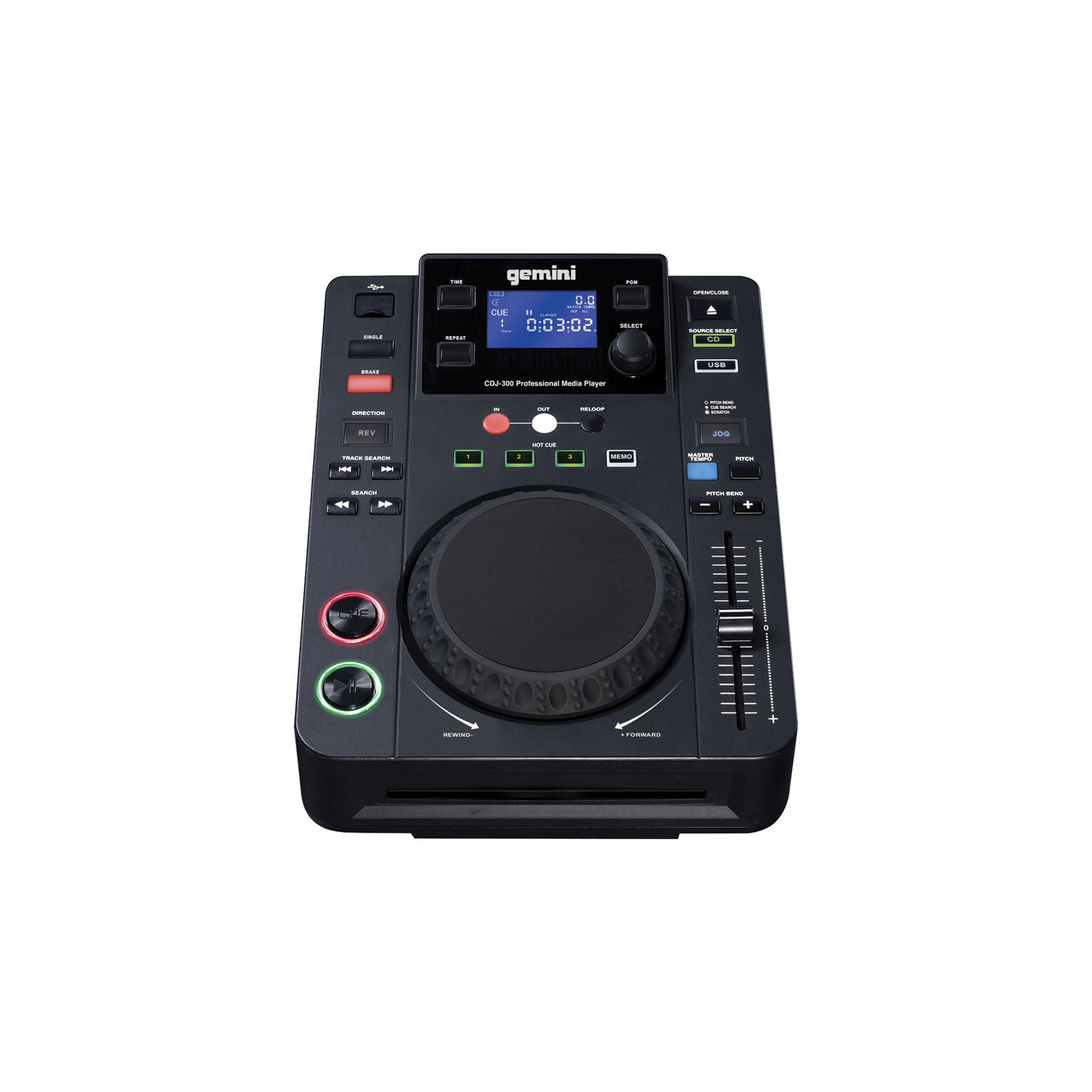 دی جی کنترلر جمینی مدل CDJ-300