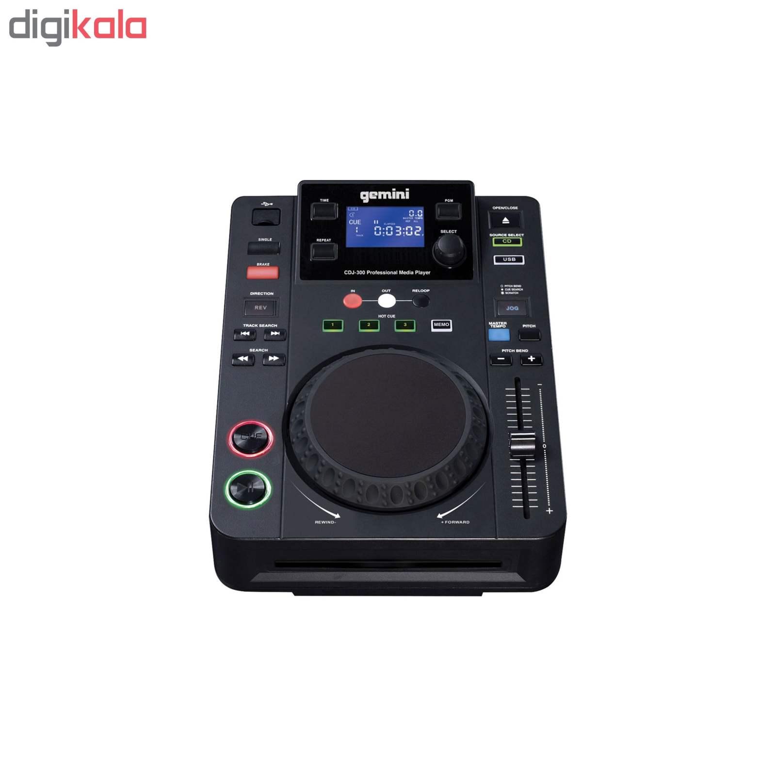 دی جی کنترلر جمینی مدل CDJ-300 main 1 1