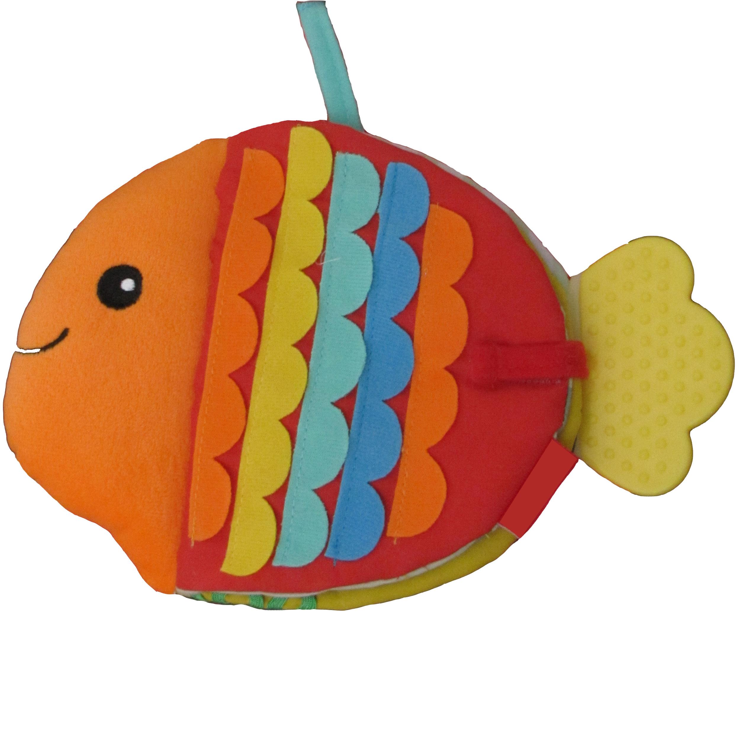 کتاب کودک طرح ماهی