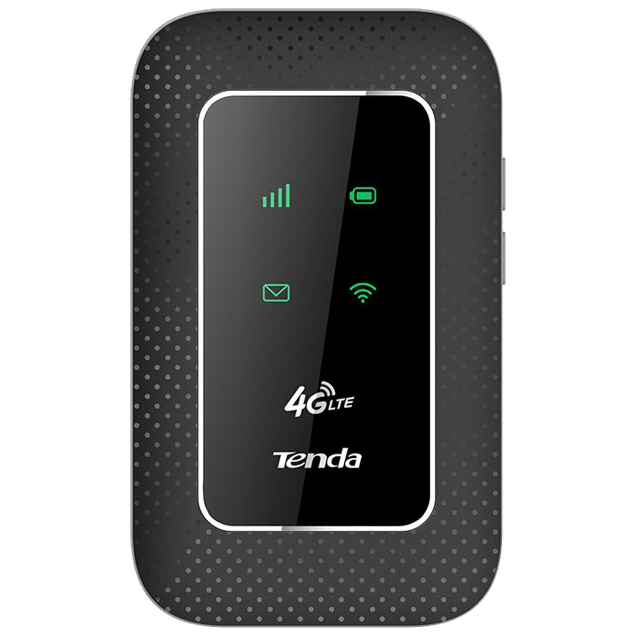 مودم 4G قابل حمل تندا کد 180 به همراه 10 گیگابایت اینترنت