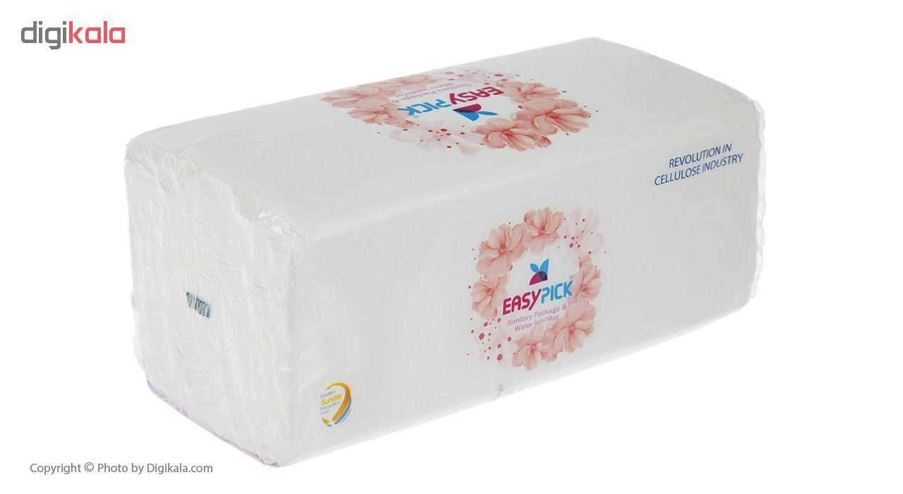 دستمال کاغذی 150 برگ ایزی پیک مدل Luxury بسته 3 عددی main 1 2