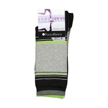 جوراب ورزشی مردانه پونتو بلانکو کد 74655-581 بسته 2 عددی