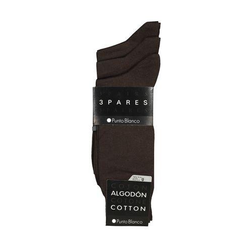 جوراب مردانه پونتو بلانکو کد 13430-403 بسته 3 عددی