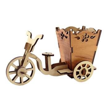 جامدادی رومیزی طرح دوچرخه