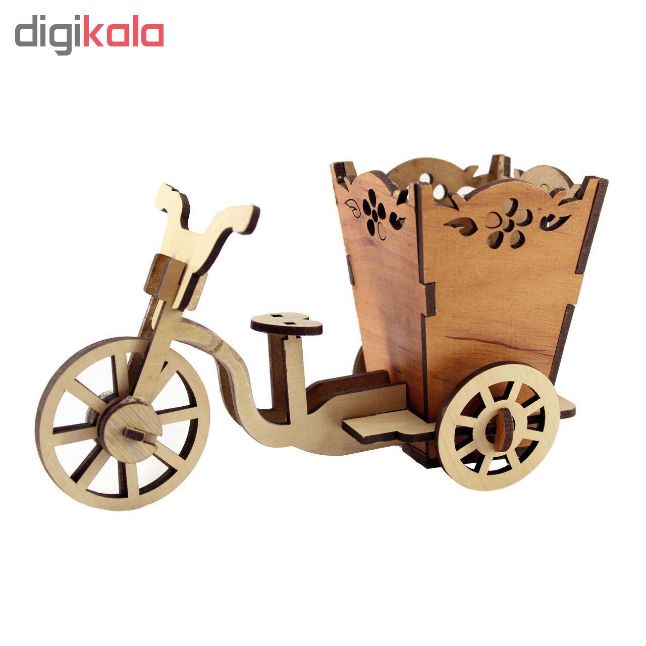 جامدادی رومیزی طرح دوچرخه main 1 1