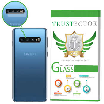 محافظ لنز دوربین تراستکتور مدل CLP مناسب برای گوشی موبایل سامسونگ Galaxy S10 Plus