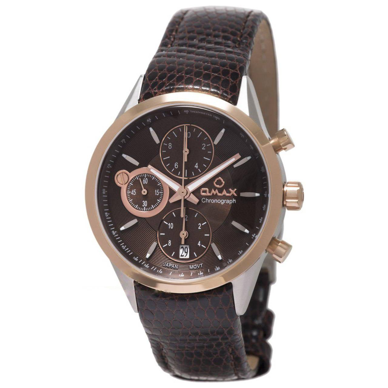 کد تخفیف                                      ساعت مچی عقربه ای  مردانه اوماکس مدل MG09C55I