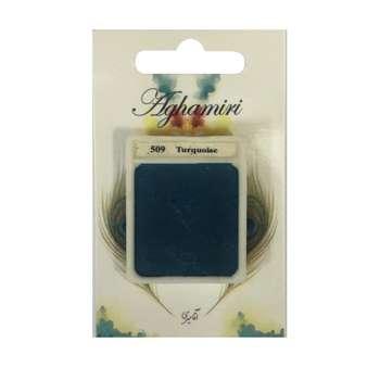 قرص آبرنگ آقامیری مدل turquoise 509