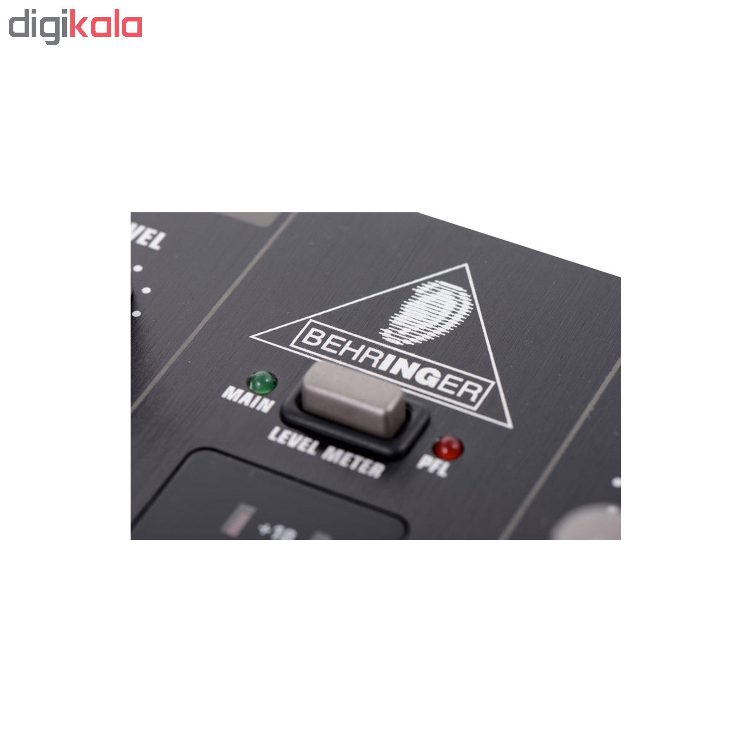 میکسر دی جی بهرینگر مدل VMX100 USB main 1 5