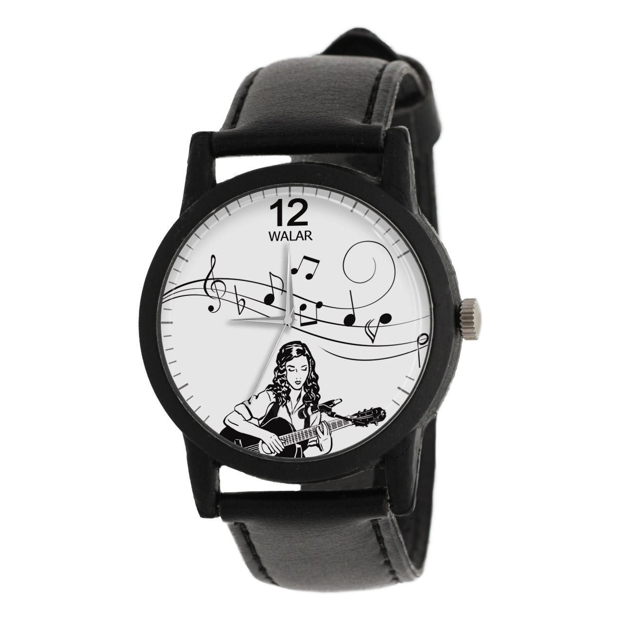 ساعت مچی عقربه ای زنانه والار طرح موسیقی مدل LF1331