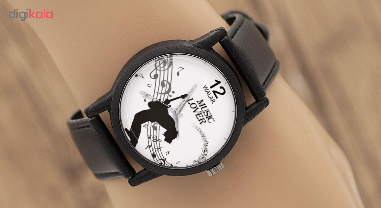 ساعت مچی عقربه ای والار طرح Music Lover مدل LF1333