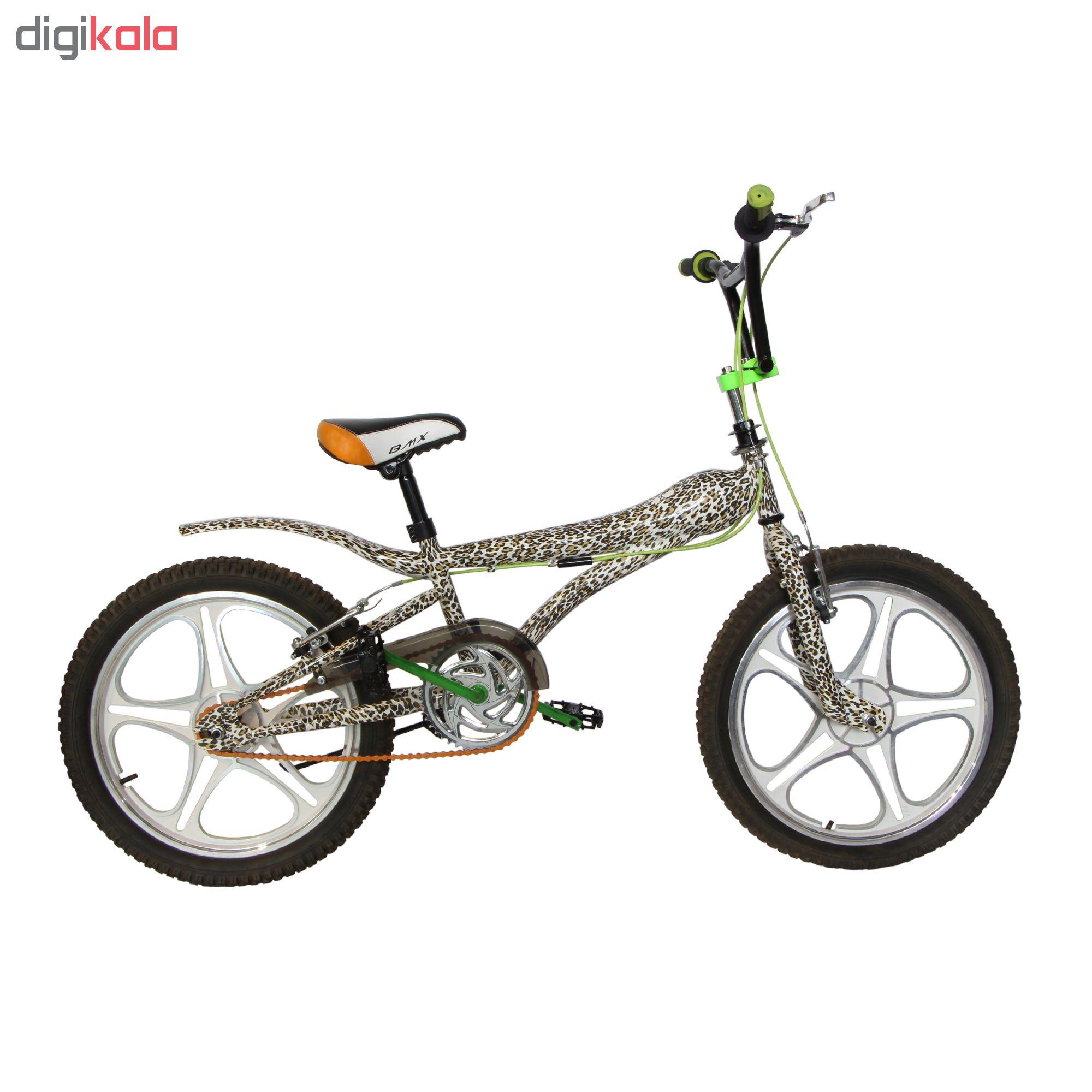 دوچرخه BMX مدل 0055WG سایز 20