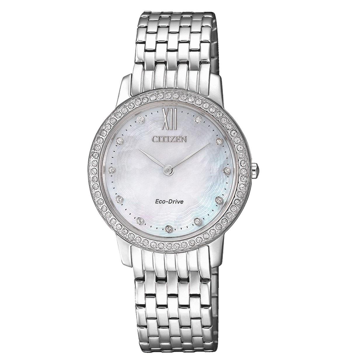 ساعت مچی عقربه ای زنانه سیتی زن مدل EX1480-82D
