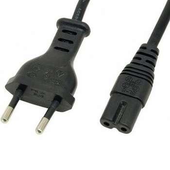 کابل برق دو پین دیتکس کد p-2 طول 1.5 متر