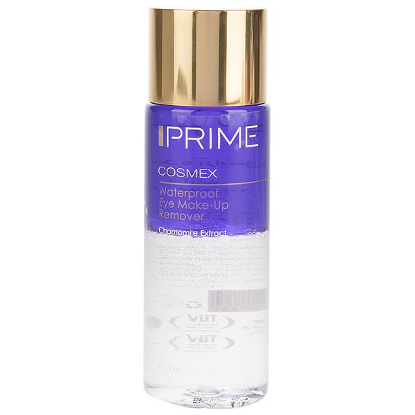 پاک کننده آرایش ضد آب چشم پریم دو فاز حجم 100 میلی لیتر