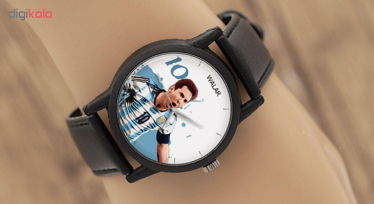 کد تخفیف                                      ساعت مچی عقربه ای مردانه والار طرح مسی مدل LF1359