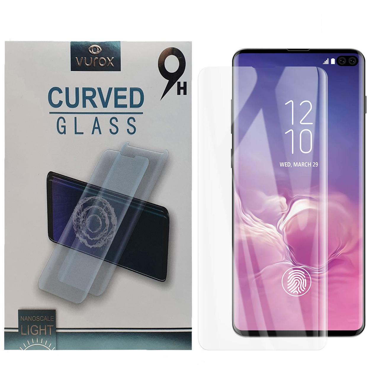 محافظ صفحه نمایش یووی لایت ورکس مدل LMT مناسب برای گوشی موبایل سامسونگ Galaxy S10 Plus              ( قیمت و خرید)