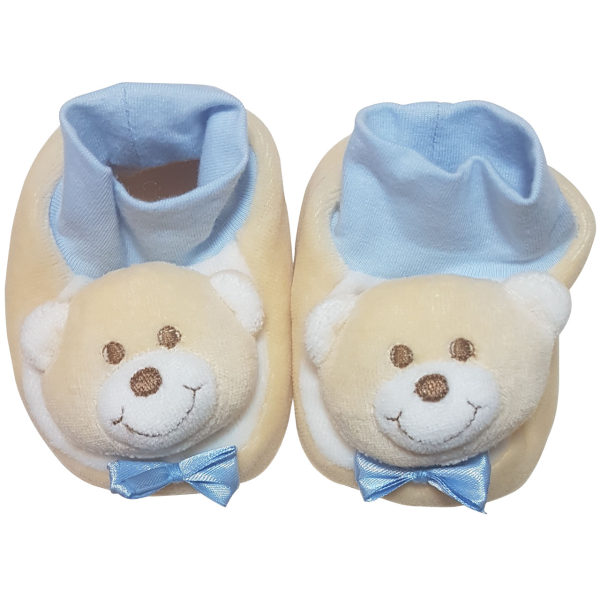 پاپوش نوزادی پسرانه بیبی بو طرح خرس مدل n151