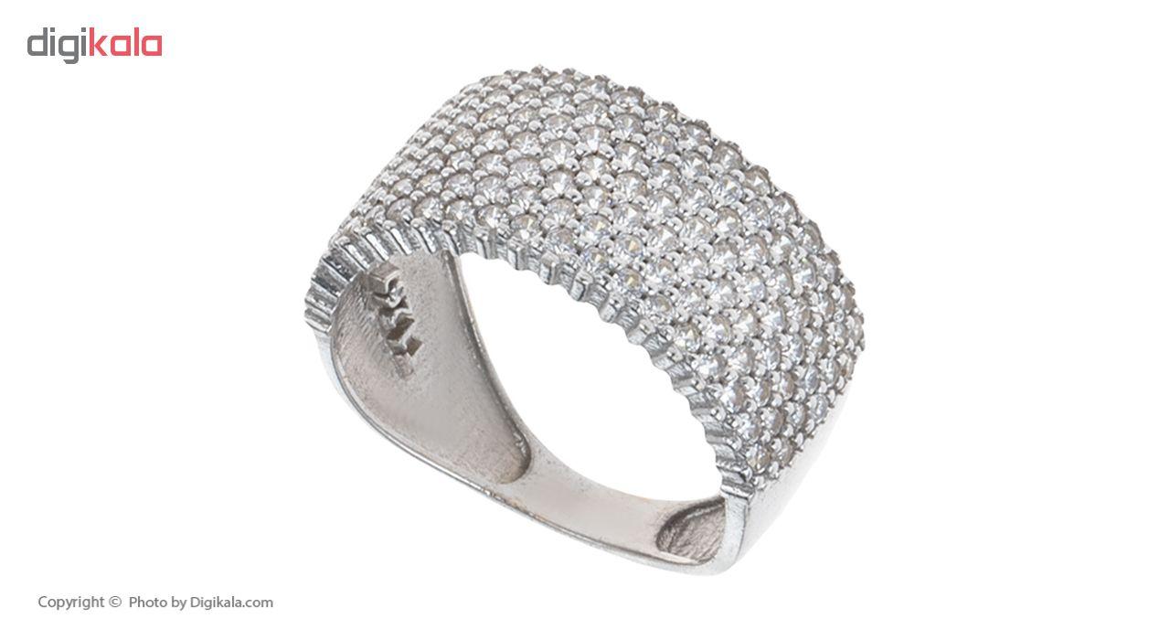 انگشتر طلا 18 عیار زنانه کد RJ-001