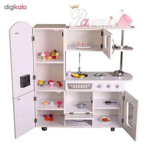 آشپزخانه کودک مدل kitchen toy