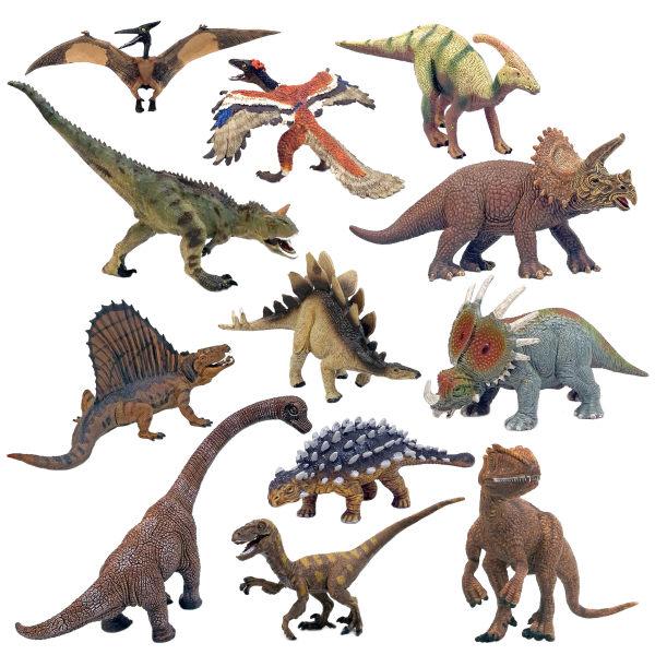 فیگور طرح دایناسور مدل 212 Dinosaur Family بسته 12عددی