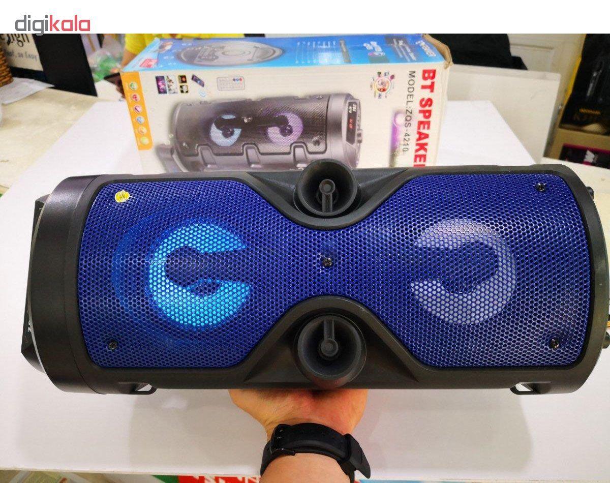 اسپیکر بلوتوثی بی تی مدل zqs به همراه میکروفن main 1 6