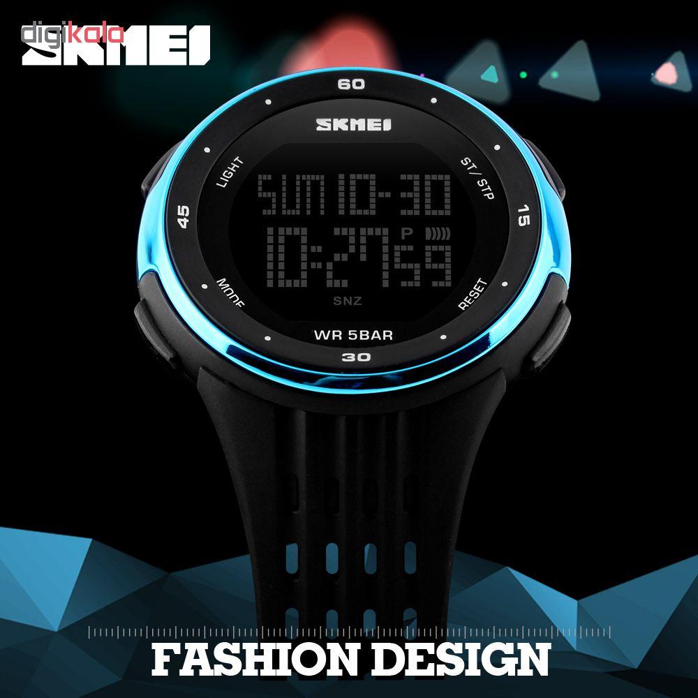 ساعت مچی دیجیتال مردانه اسکمی مدل 1219-B             قیمت