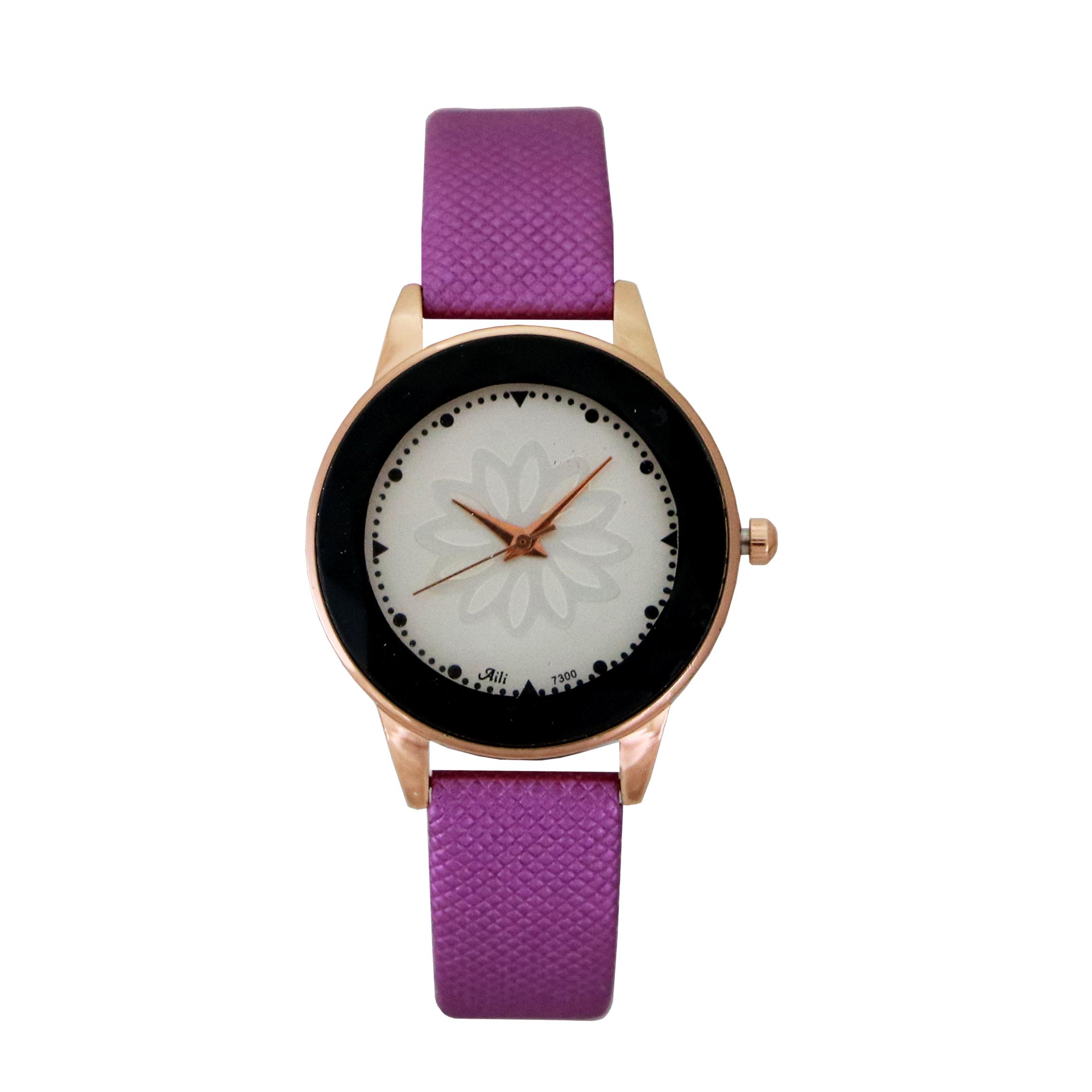 ساعت مچی عقربه ای زنانه آیلی کد mw743